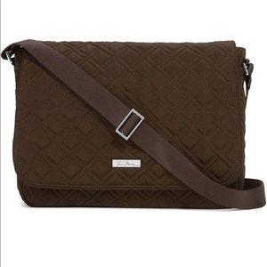 Vera Bradley Black Messenger Bag
